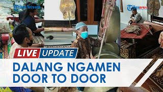 2 Tahun Tak Manggung & Minim Pemasukan, Dalang Senior di Boyolali Banting Setir Ngamen Door To Door