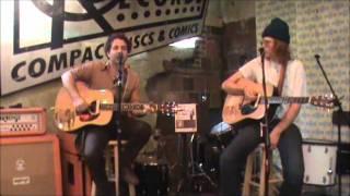 Brett Dennen & Taylor from Dawes Cover James Taylor Tom Petty & John Prine  @ Criminal Records