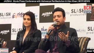 JAZBAA : Movie Press Conference with Aishwarya Rai