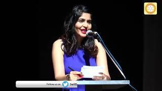 सुदर्शन फार्मा के एक्सेलेंस अवार्ड समारोह में चेयरमैन और डायरेक्टर द्वारा शंखध्वनि Muskaan Chowdhry