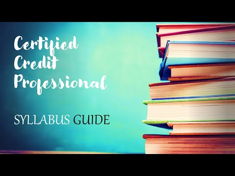 CCP - Certified Credit Professional Syllabus Priority Chapter wise ...