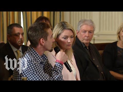 Fla. shooting survivor to Trump: 'Let's never let this happen again. Please.'