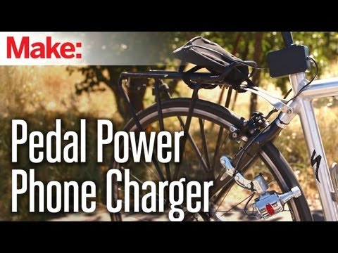 Charge Your Phone While Riding Your Bike