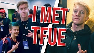 Sceptic meeting Tfue at Twitch Con... (VIDEO)