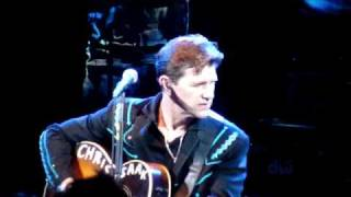 We lost our way Chris Isaak London 13 June 2010