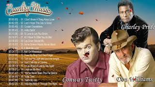 Conway Twitty, Don williams, Charley Pride: Greatest Hits – Best Classic Songs Of The 60's 70's 80's