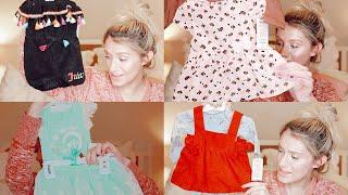 Huge Baby Girl Clothing Haul   Affordable! Target   Buy Buy Baby   TJMaxx