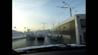 Варианты торможения на скользкой дороге
