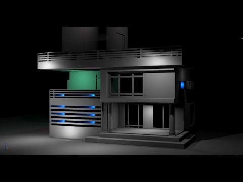 How to model simple House – 3DS Max tutorial part -1