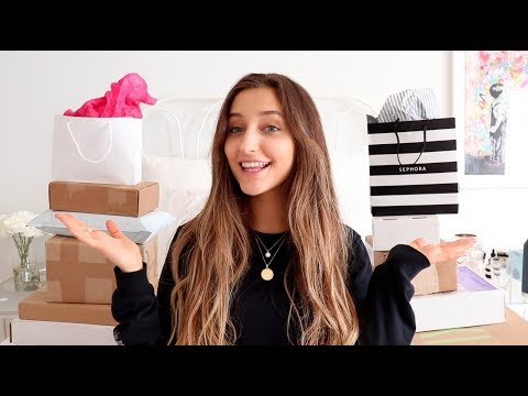 HUGE Unboxing HAUL! PR Packages and Online Shopping