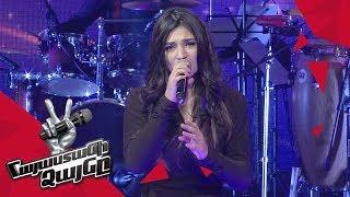 Emma Hovhannisyan sings 'Hurts' - Knockout – The Voice of Armenia – Season 4