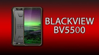 Смартфон Blackview BV5500 2/16GB Black от компании Cthp - видео 2