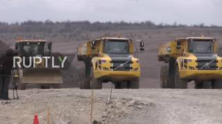 Russia: Construction of road to Kerch Bridge gets underway in Crimea
