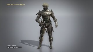 Metal Gear Solid V: The Phantom Pain - How to Get Raiden Suit (With Showcase and Gameplay)
