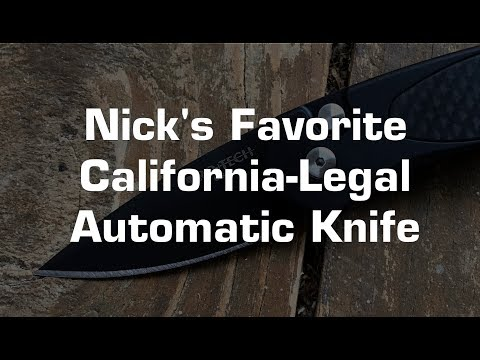 What's Nick's Favorite California Legal Automatic Knife?