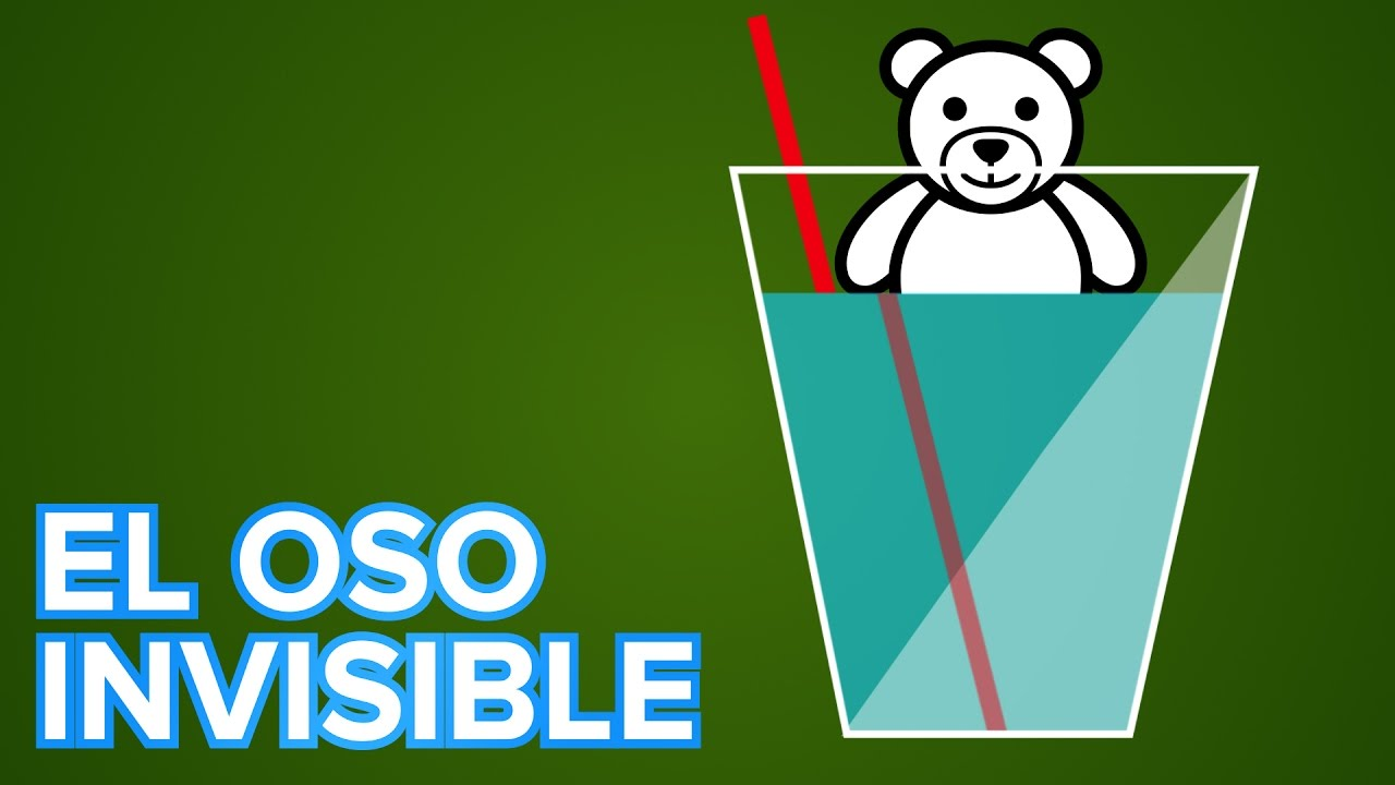 El oso que se hace invisible | Experimento de ciencias para niños