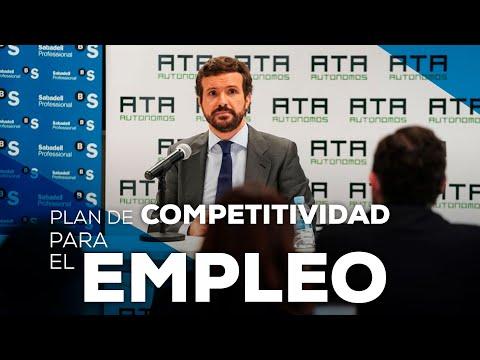 Plan de competitividad para el empleo