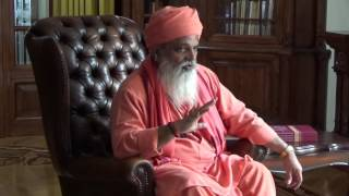 Interview of Mahant Dr.Guru Yogi Vilasnathji at Sulislaw Palace in Poland