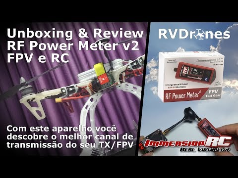 Abrindo a caixa e Review do RC Power Meter - Brasil