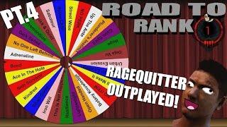 Dead By Daylight Survivor | RAGEQUITTER OUTPLAYED | PERK ROULETTE PT.4