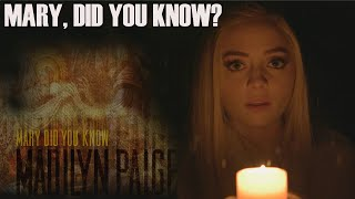 Mary, Did You Know?   Madilyn Paige