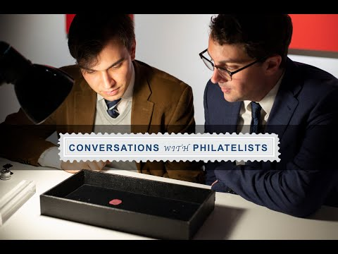 Conversations with Philatelists: Ep. 56 On Location at Sotheby's: An In-Depth Look at the World's Most Valuable Stamp