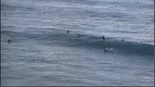 preview picture of video 'Surf: baño en la playa de El Sardinero en Santander'