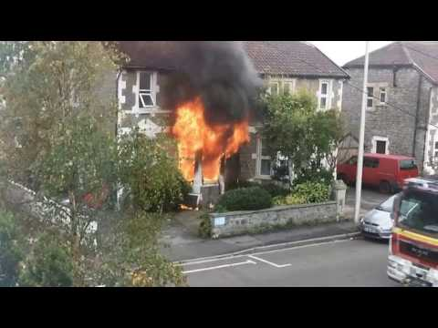Weston-super-Mare House Fire