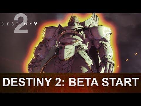 DESTINY 2 Beta Start Datum Ps4, Xbox One & Pc (Deutsch/German)