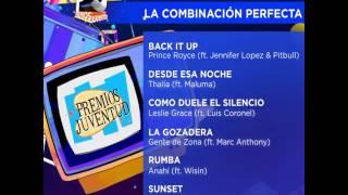 Anahí Nominada por Rumba ft. Wisin como La Combinación Perfecta en Premios Juventud 2016