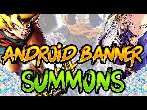 4000+ CC Android Banner Summons. Vegeta Beats Frieza Animation || Dragon Ball Legends