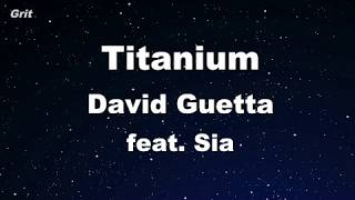 david guetta titanium lyrics karaoke - TH-Clip