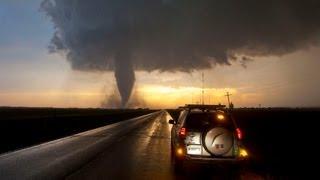 Storm Chase & Spotting - Rozel Tornado, Kansas 18th May 2013