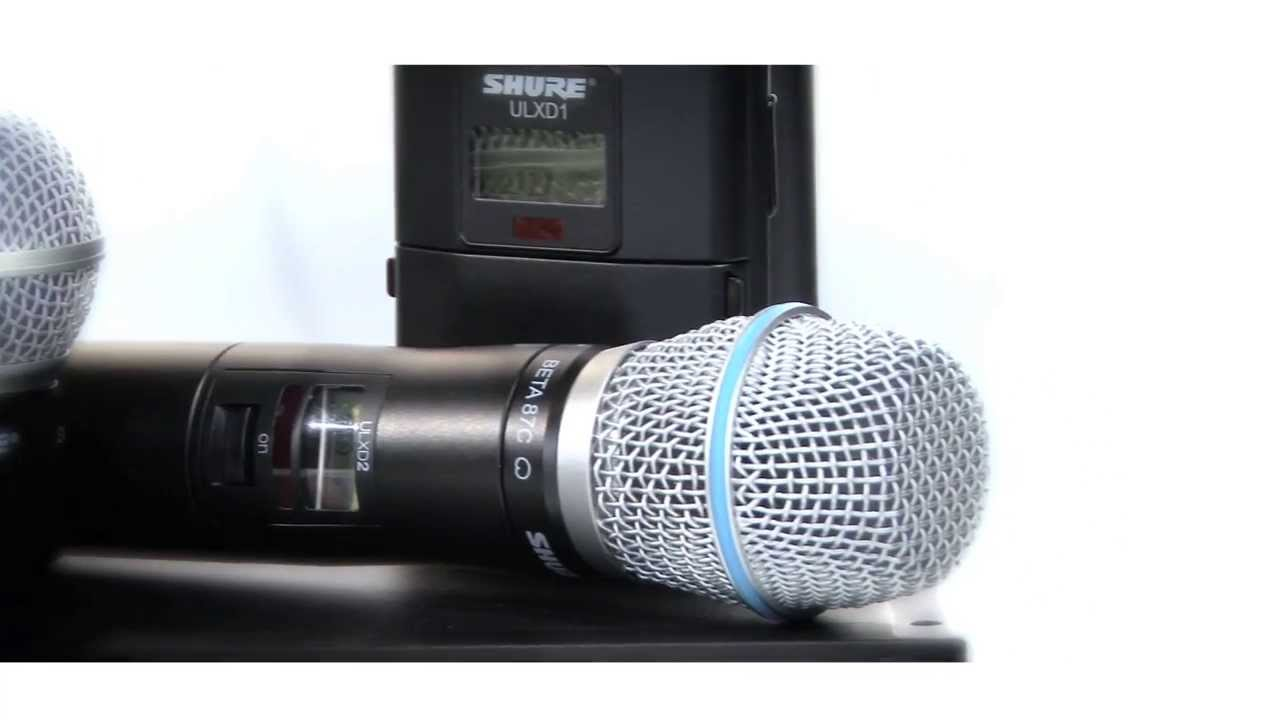 ULX-D digital wireless system: Wide Selection of Mics