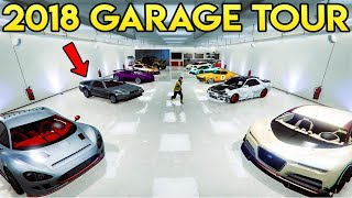 My 2018 UPDATED Garage Tour in GTA Online! Over 120+ Vehicles!