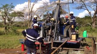 "multi power hydraulic diamond drill "" Simba diamond Drilling """
