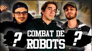 De retour pour l'épisode 3 de combat de robot !  Téléchargez World of Tank sur PC : https://tanks.ly/2zqXjzP  La chaîne de Superconeri : https://bit.ly/2MlvVKQ Quentin : https://www.instagram.com/funnymisery/ Magasin de voiture : http://angersjmr.com/  Ma Marque : https://unicornwearelegends.com/ Mon instagram : https://instagram.com/vodkirl/ Mon twitch : http://www.twitch.tv/powavodk Mon Facebook : http://www.facebook.com/VodKprod Mon twitter : https://twitter.com/VodKirl Ma chaine secondaire :  http://www.youtube.com/user/VodKIRL  Production : Manon Harbulot Cadrage : Fabien Bertrand Montage : Diane Javelot  Merci à tous du soutien :)