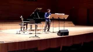 "Thanos Chrysakis- ""Fáessa"" (premiere); Jason Alder, clarinet"
