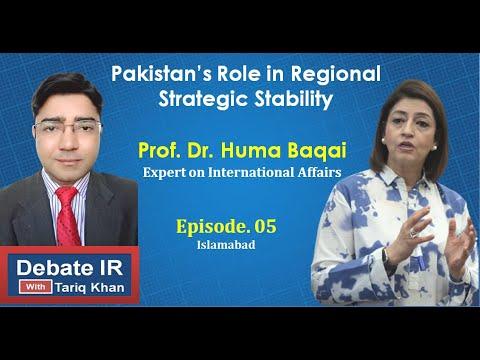 Pakistan's Role in Regional Strategic Stability. 15December, 2020