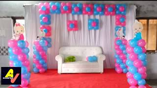 Baby Shower Theme Balloon Decoration