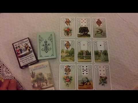 Blue Owl Lenormand (Blaue Eule) Plus My Three Traditional Lenormand Decks