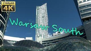 Warsaw South, City Walk - Poland 4K Travel Channel