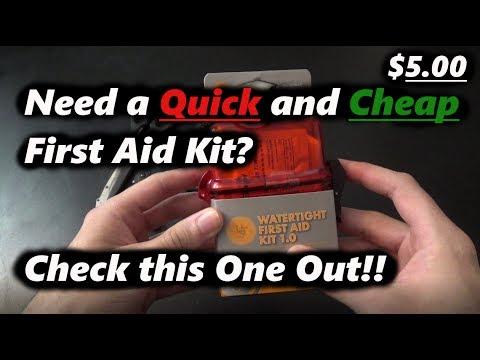 $5 Walmart First Aid Kit!