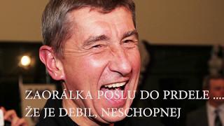 Andrej Babiš premiér - NADÁVKY A URÁŽKY - SORRY JAKO nahrávky dokument dokumentární #andrejb