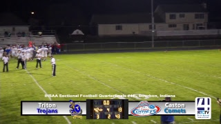 Sectional Football - Caston vs Triton