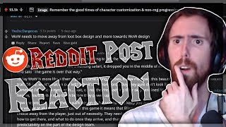 Asmongold Reacts to a Reddit Post That Compares Previous Expansions to BFA With Mcconnell