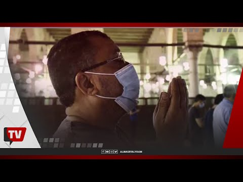 صلاة التراويح في ليلة القدر بمسجد عمرو بن العاص