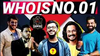 Who Is No.01 YouTuber In India || India's Top 10 Youtubers || India ke 10 Sabse Bade Youtubers