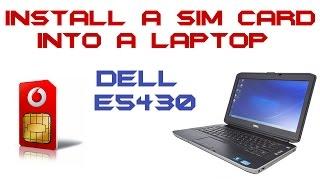 How To Use Sim In Your Laptop  !! - Самые лучшие видео