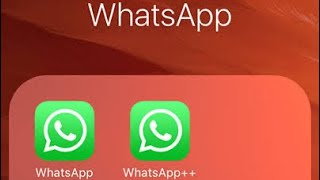 How to download 2 whatsapp in one iphone|||||| latest 2020